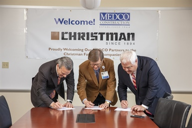 The Christman Company acquires MEDCO Construction from Baylor Scott & White Health