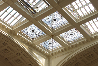 Skylight Restoration Underway at DAR Headquarters in D.C.